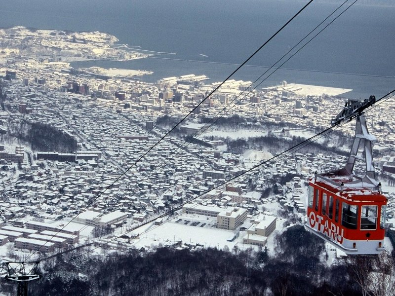 [I-2] Otaru Bay Story Tour (With Otaru Tenguyama Ropeway)(Multilingual Audio Tour)