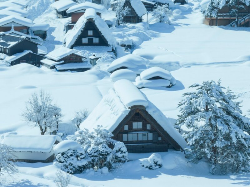 Shirakawago and Ainokura Bus Tour