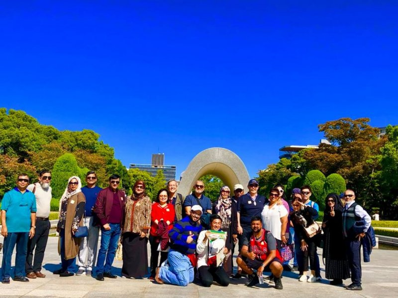 Hiroshima and Miyajima 1 Day Tour with Lunch (Hiroshima Departure)