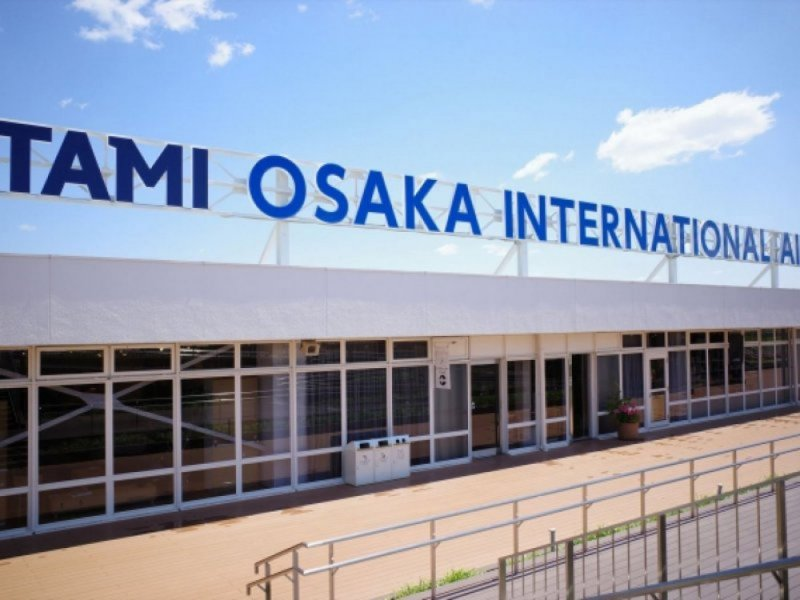 Itami Airport to Hotels in Osaka by chartered taxi (sedan)(No escort staff)(for 1-2 persons)