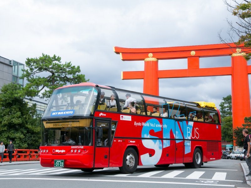 【京都雙層觀光巴士】Kyoto Hop-On Hop-Off Sightseeing Bus