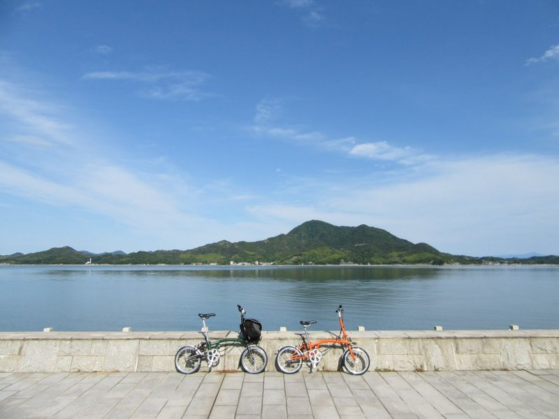 Guided Cycling Tour at Sea Route in Hiroshima