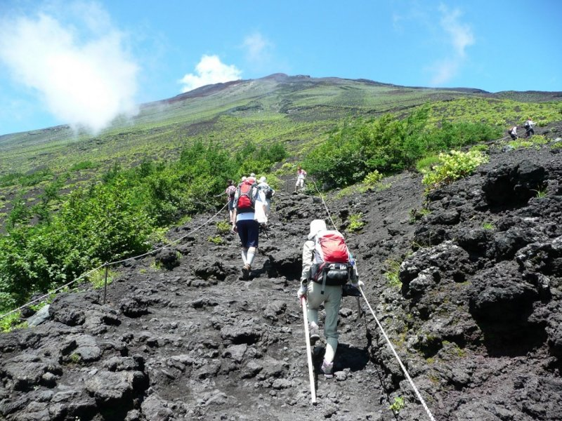 Mt.Fuji Climbing Tour for Beginners (2 days & 1 night)